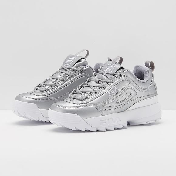Shoptagr | Fila – Disruptor – Sneaker In Silber by Fila